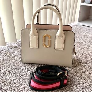 LIKE NEW Marc jacob little big shot in Dust color